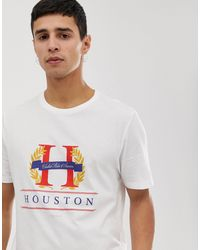New Look T-shirt With Houston Print - White