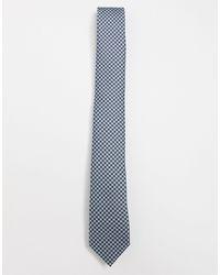 Ben Sherman - Cravate à petit motif pied-de-poule - Lyst