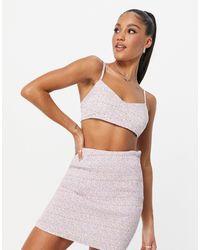 Missguided Co-ord Cami Top - Purple