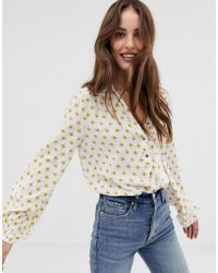 Free People Willow Bodysuit - Yellow