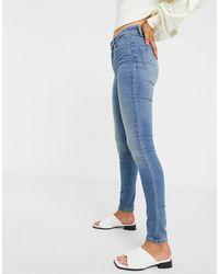 Vila Skinny Jeans - Blue