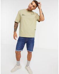 River Island Boxy T-shirt - Green