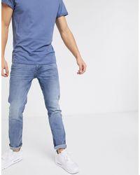Tom Tailor Slim Piers Denim - Blue