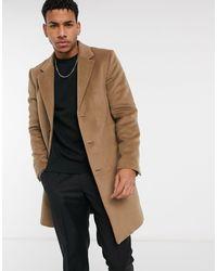 River Island Overcoat - Brown