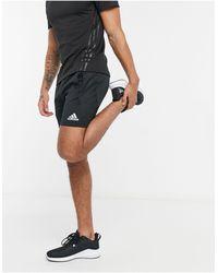adidas Черные Шорты -черный Цвет