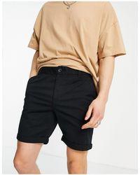 New Look Chino Short - Black