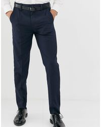 French Connection – Eng geschnittene Hose - Blau