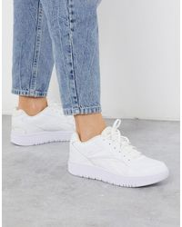 Reebok Court Double Mix Trainers - White