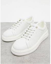Fiorelli – Anouk – Ledersneaker zum Schnüren - Weiß