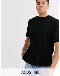 ASOS - Tall Organic Oversized T-shirt With Crew Neck - Lyst
