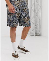 Mennace Co-ord Shorts - Natural