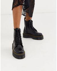 Dr. Martens Массивные Ботинки На Платформе Jadon-черный