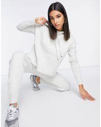 Fashion Union - Трикотажные Джоггеры От Комплекта -серый - Lyst