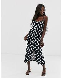 ASOS Belted Maxi Dress - Black