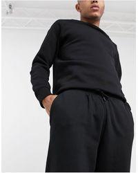 Weekday - Черные Джоггеры Standard-черный - Lyst