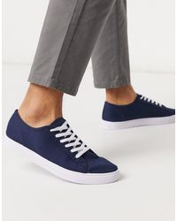 ASOS Wide Fit Trainers - Blue