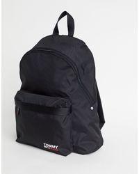 Tommy Hilfiger Черный Рюкзак С Логотипом -черный Цвет