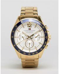 Tommy Hilfiger Часы Из Нержавеющей Стали 1791121 Luke-золотой - Металлик