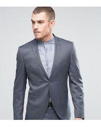SELECTED | Slim Suit Jacket In Birdseye | Lyst