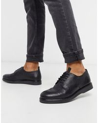H by Hudson Barnstable Derby Shoes - Black