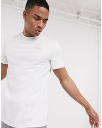 Calvin Klein Белая Футболка Newport-белый