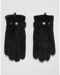Dents - Chester Suede Gloves - Lyst