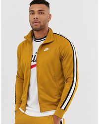 642e6d1b0 Tribute Track Jacket In Gold - Metallic