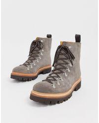 Grenson Замшевые Походные Ботинки Brady-коричневый