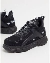 Buffalo Cld Chai - Sneakers chunky vegan nere - Nero