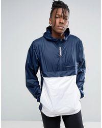 Nike - Packable Anorak In Black 860265-475 - Lyst