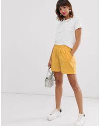 Ichi Pantaloncini in jersey a righe - Multicolore
