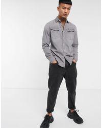 G-Star RAW 3301 Denim Slim Shirt - Grey