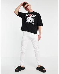 ASOS Jeans skinny bianchi - Bianco