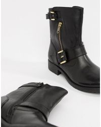 Dune - Ripp Leather Ankle Boots - Lyst