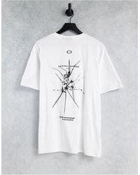 Criminal Damage Smash T-shirt - White