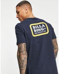 Billabong Camiseta walled - Azul