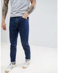 Lee Jeans - 90s Rider Tapered Jeans Dark Stonewash - Lyst