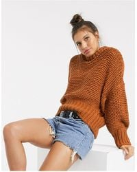 Free People – My Only Sunshine – Grobstrickpullover - Mehrfarbig