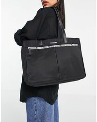 Steve Madden Zippaa - Tote bag à bande - Noir
