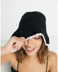ASOS Cappello da pescatore - Nero