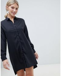 Native Youth - Shirt Dress With Tie Waist Detail - Lyst