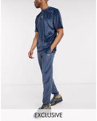 Reebok Velour joggers - Blue