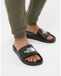 The North Face - Base Camp Slide Ii Black & White - Lyst