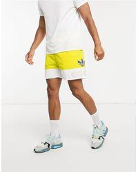 adidas Originals Желтые Шорты Pride-желтый