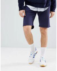 Hackett - Mr. Classic Logo Sweat Shorts In Navy - Lyst