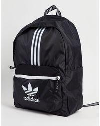 adidas Originals Черный Рюкзак С Тремя Полосками Adicolor-черный Цвет