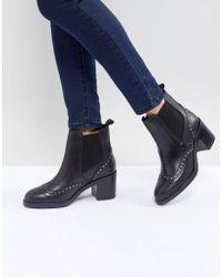 Carvela Kurt Geiger - Stop Leather Studded Ankle Boots - Lyst