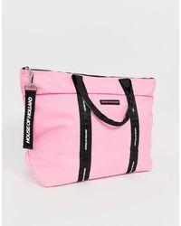 House of Holland Große Shopper-Tasche - Pink