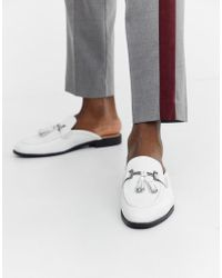House Of Hounds Bardin Slip On Loafers - White