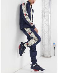 Fila Greene - Jogger à bande large - Bleu marine